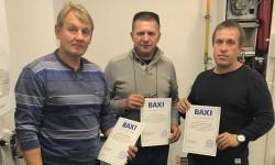 Посещение нашей компанией семинара по оборудованию торговой марки BAXI