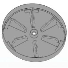 Нижняя крышка (серый) комфорт