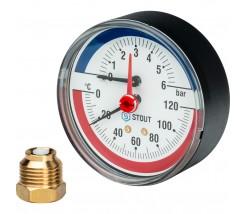 Манометры термометры